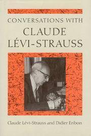 Conversations with Claude Levi-Strauss