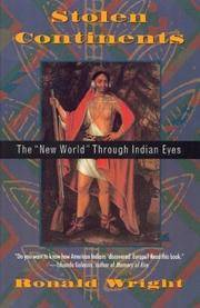 image of Stolen Continents: The New World Through Indian Eyes