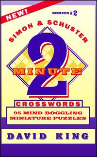 Simon  Schuster Two-Minute Crosswords Vol 2