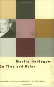image of On Time and Being
