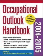 Occupational Outlook Handbook 2004-2005 (Occupational Outlook Handbook (Mcgraw))