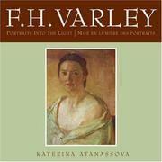 F.H. Varley: Portraits into the Light/Mise en lumière des portraits
