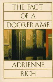 THE FACT OF A DOORFRAME. Poems Selected And New 1950 - 1984.