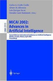 MICAI 2002: Advances in Artificial Intelligence : Second Mexican International Conference on...