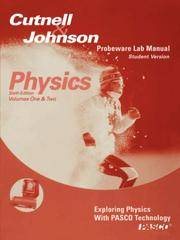 image of Physics, Laboratory Manual-Student Version