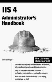 IIS 4 Administrator's Handbook