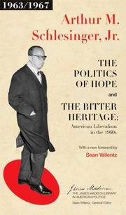 Politics Of Hope and The Bitter Heritage