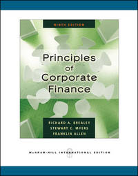 Principles of Corporate Finance (International Edition) by  R A et al Brealey - Paperback - 2008 - from Anybook Ltd and Biblio.com