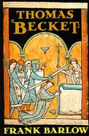 THOMAS BECKET by FRANK BARLOW - Paperback - from Montclair Book Center (SKU: IM502726)