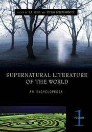 Supernatural Literature of the World: An Encyclopedia Vol 1