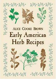 image of Early American Herb Recipes