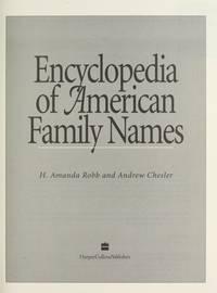 Encyclopedia of American Family Names