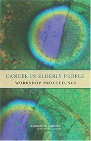 Cancer in Elderly People by  2007)  Paperback) : National Cancer Policy Forum (Paperback - Paperback - from Janson Books (SKU: 342422973589)