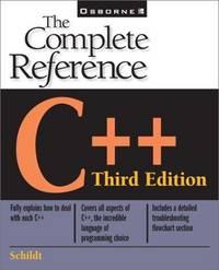 C++: The Complete Reference (The Complete Reference Series)