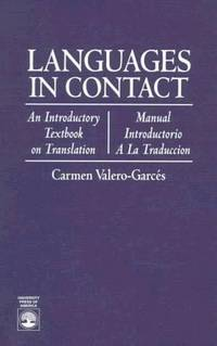 Languages in Contact: An Introductory Textbook on Translation