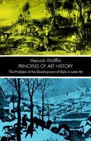 image of Principles of Art History