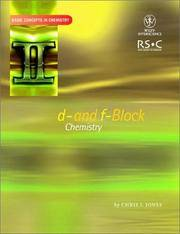 image of D- and F- Block Chemistry