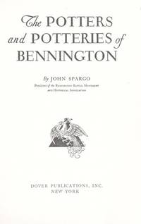 image of Potters and Potteries of Bennington