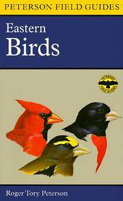 image of A Field Guide to the Birds: A Completely New Guide to All the Birds of Eastern and Central North America (Peterson Field Guide Series)