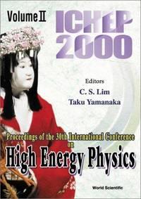 Proceedings of the 30th International Conference on High Energy Physics, Osaka, Japan, 27 July -...