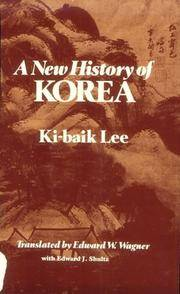 image of A New History of Korea