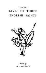 Aelfric's Lives Of Three English Saints (University of Exeter Press - Exeter Medieval Texts and...