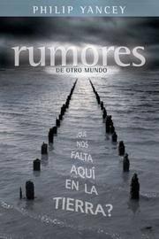 image of Rumores de otro mundo: que nos falta aqui en la tierra? (Spanish Edition)