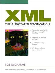 XML: The Annotated Specification