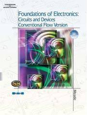 image of Foundations of Electronics: Circuits & Devices Conventional Flow