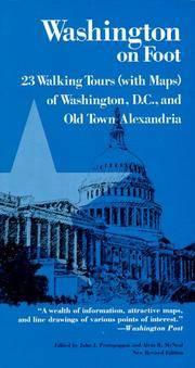 WASHINGTON ON FOOT 3E PB (With Maps Washington, D.C. and Old Town Alexandria)