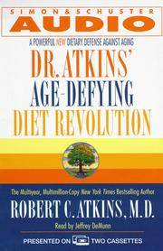 image of Dr. Atkins' Age-Defying Diet Revolution