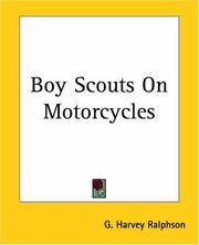 image of Boy Scouts On Motorcycles