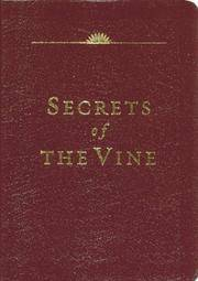 Secrets of the Vine (Leather Edition)