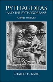 PYTHAGORAS AND THE PYTHAGOREANS: A BRIEF HISTORY