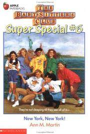 image of New York, New York! (Baby-Sitters Club Super Special, 6)