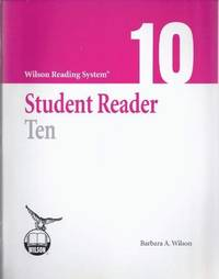 Wilson Reading System - Student Reader Ten (10) - Third Edition