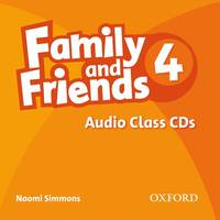Family And Friends: 4: Class Audio CD - Used Books