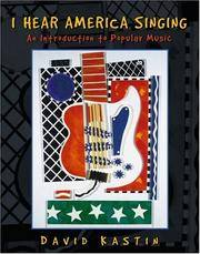 I Hear America Singing: An Introduction to Popular Music