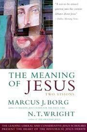 The Meaning of Jesus Two Visions