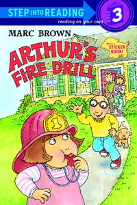 Arthur's Fire Drill [With Stickers]