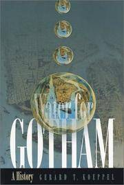 image of Water for Gotham: A History