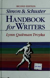 Simon & Schuster Handbook for Writers Second Edition by S - Hardcover - 2nd edition - 1989-12-01 - from BIBLIOTEKA2010 (SKU: SKU-0031394)