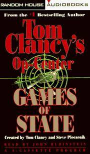 GAMES OF STATE: (Tom Clancy's Op-Center)  Audio Cassettes by  Tom Clancy - Paperback - 1996 - from bookwitch and Biblio.com