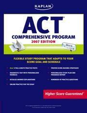 KAPLAN ACT 2007 COMPREHENSIVE PROGRAM