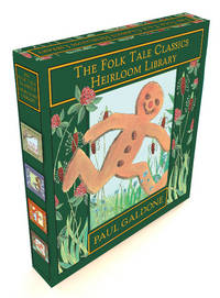 image of The Folk Tale Classics Heirloom Library: The Gingerbread Boy, Little Red Riding Hood, the Three Billy Goats Gruff, the Three Little Pigs