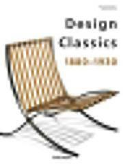 Design Classics: 1880-1930