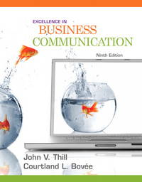 image of Excellence in Business Communication (9th Edition)