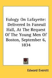 Eulogy On Lafayette