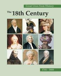 image of Great Lives from History: The 18th Century 1701-1800