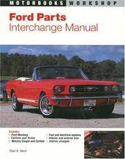 Ford Parts Interchange Manual   Mustang Fairlane Torino And Mercury Cougar And Cyclone Motorbooks Workshop